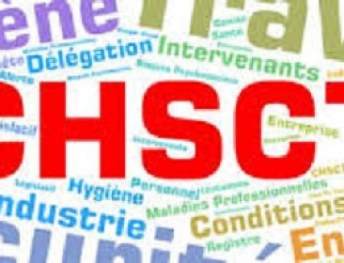 Compte rendu réunion CHSCT Coronavirus